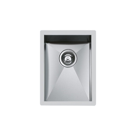 Weldable basins and sinks  - GPS Inox - Quadra - cod 1202