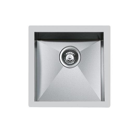 Weldable basins and sinks  - GPS Inox - Quadra - cod 1214