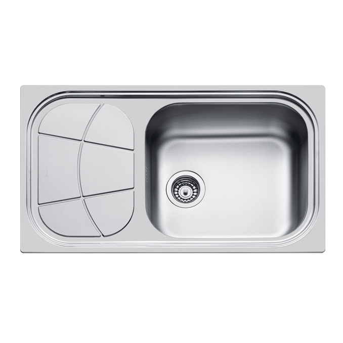 Weldable basins and sinks  - GPS Inox - Big Bowl - cod 1561