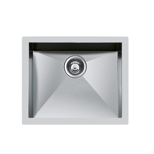 Weldable basins and sinks  - GPS Inox - Quadra - cod 1215