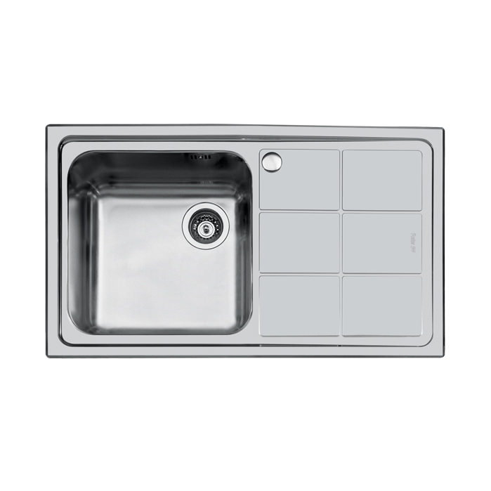 Weldable basins and sinks  - GPS Inox - S3000 - cod 1381