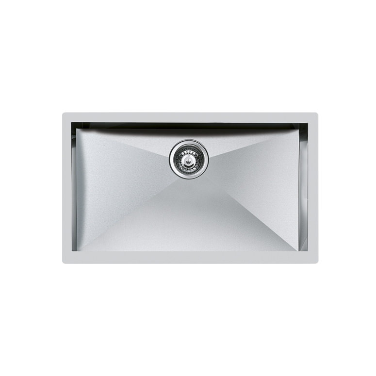 Weldable basins and sinks  - GPS Inox - Quadra - cod 1217