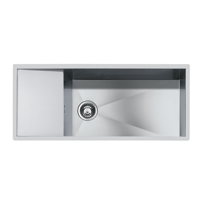 Weldable basins and sinks  - GPS Inox - Quadra - cod 1220