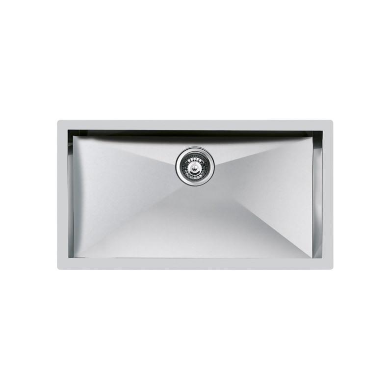 Weldable basins and sinks  - GPS Inox - Quadra - cod 1218