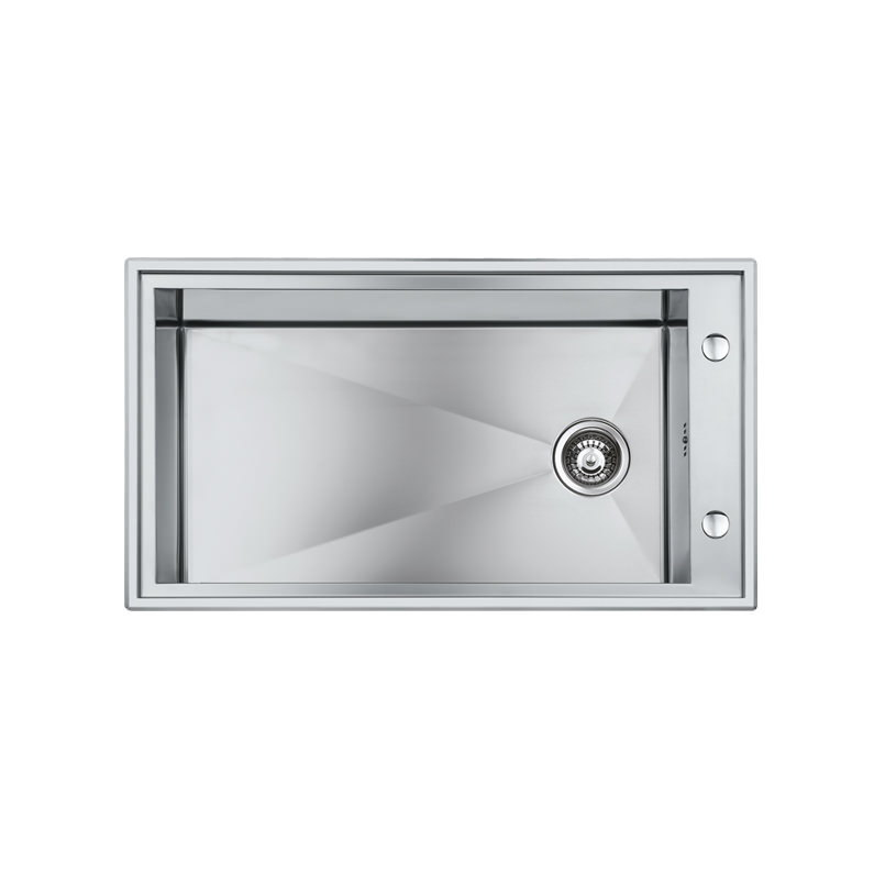 Weldable basins and sinks  - GPS Inox - Quadra - cod 1250