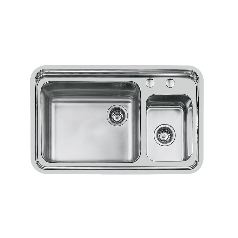 Weldable basins and sinks  - GPS Inox - Triplo invaso - cod 1488