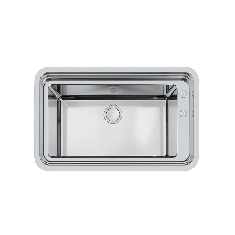 Weldable basins and sinks  - GPS Inox - Triplo invaso - cod 1490