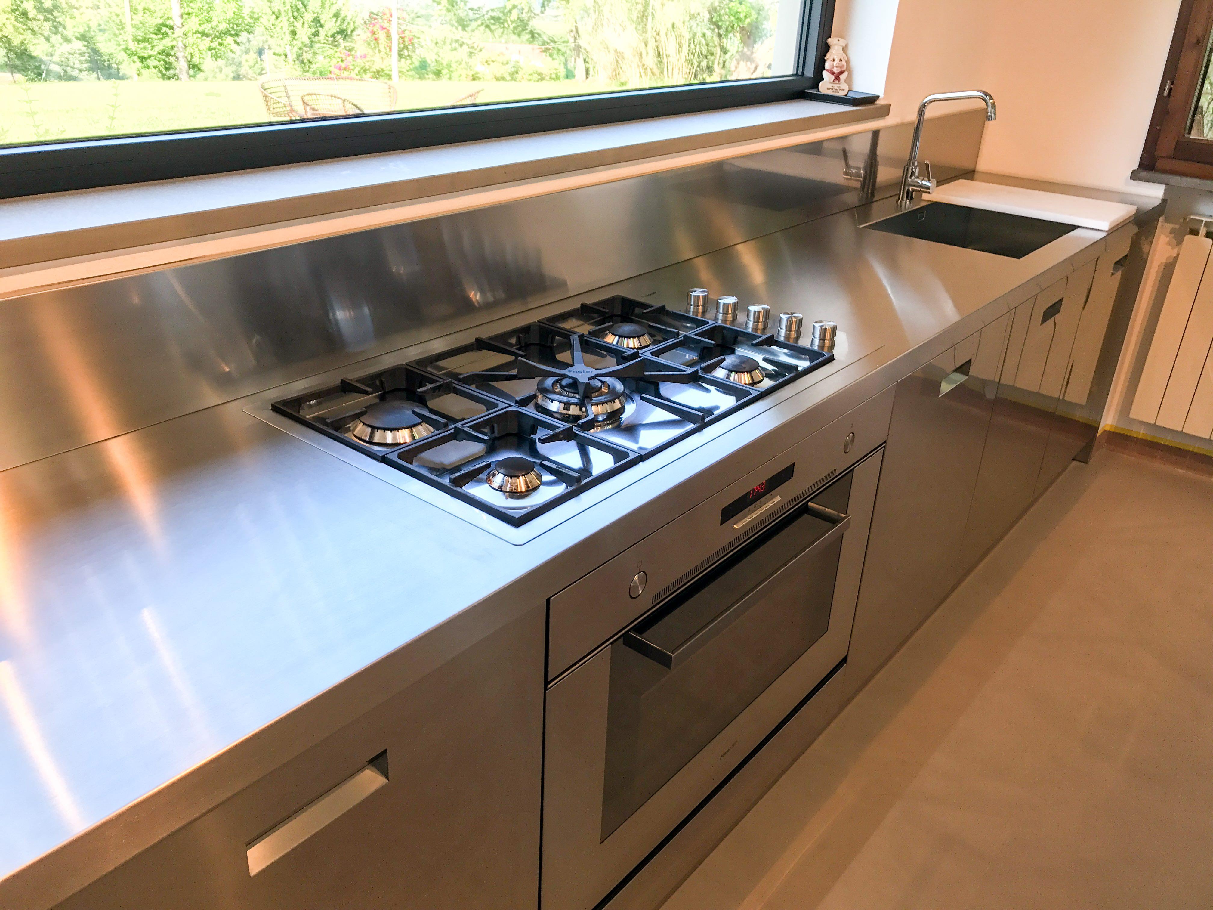 Blocco cucina acciaio blocco cucina acciaio prezzi with cucinesse prezzi with blocco cucina - Blocco cucina acciaio ...