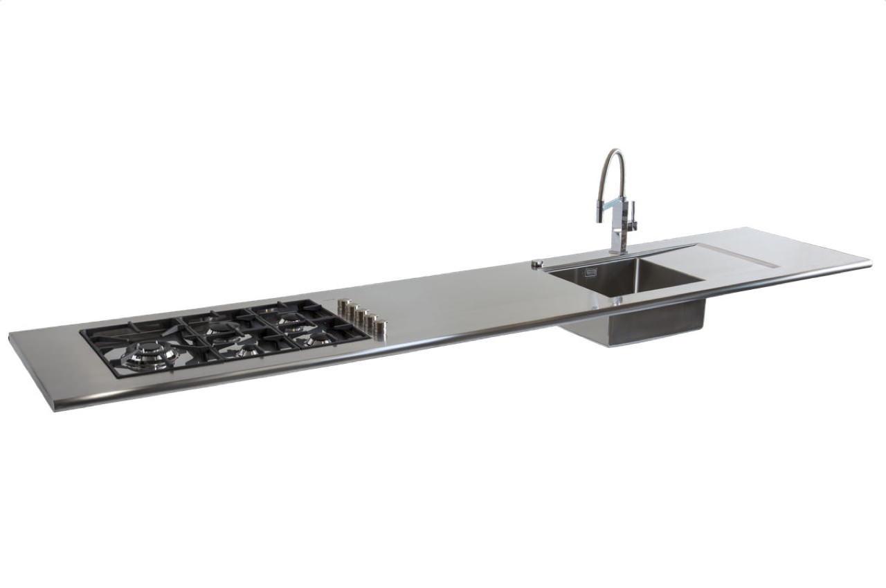 Gps inox top e piani cucina - Crea la tua cucina ...