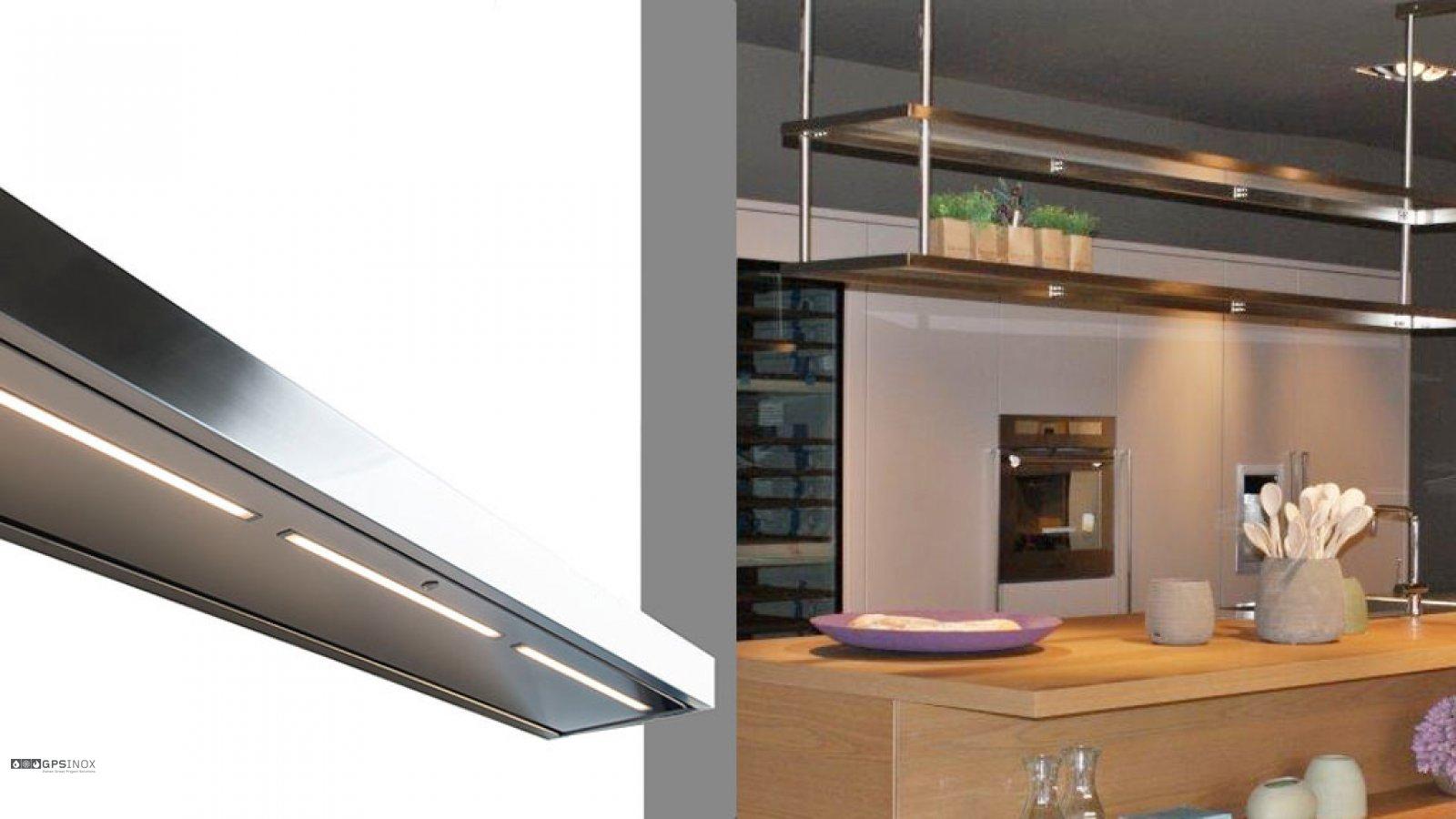 Gps inox articolo - Mensole cucina design ...